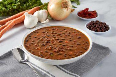 LeafSide Black Bean Chunky Tomato Soup-2