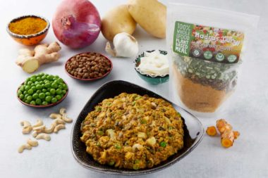 LeafSide Madras Curry Savory Bowl 3