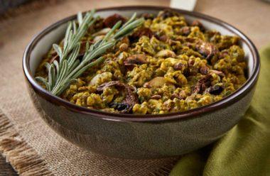 LeafSide Creamy Forest Mushroom savory bowl 2