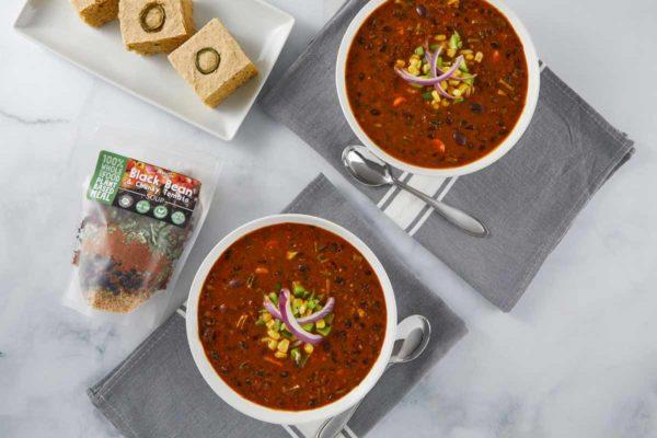 LeafSide Black Bean Chunky Tomato Soup-3