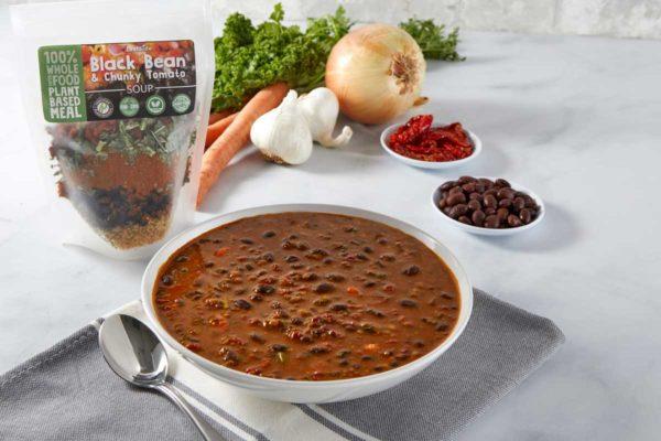 LeafSide Black Bean Chunky Tomato Soup-1