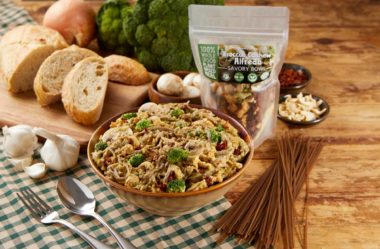 LeafSide Broccoli Cashew Alfredo 1