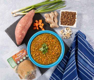 LeafSide Sweet Potato Dal Soup 2