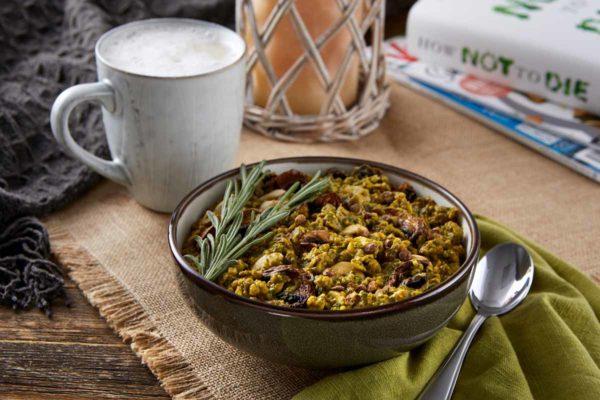 LeafSide Creamy Forest Mushroom savory bowl 3