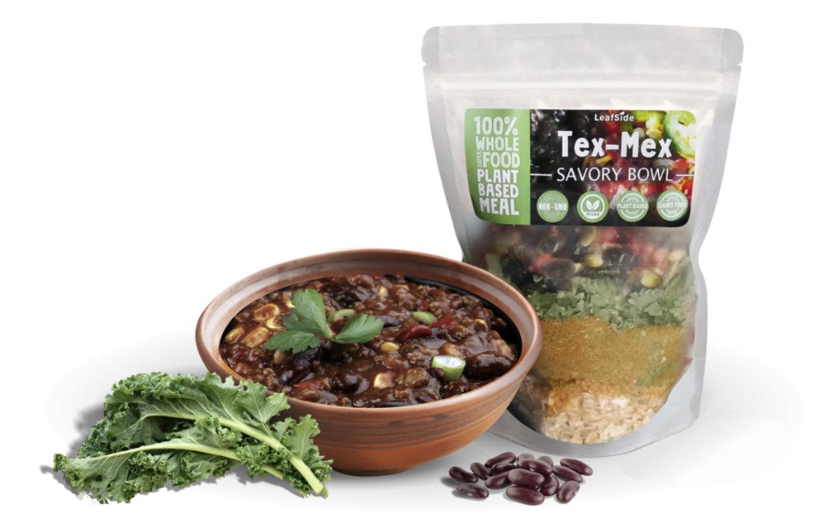 LeafSide Tex Mex Savory Bowl