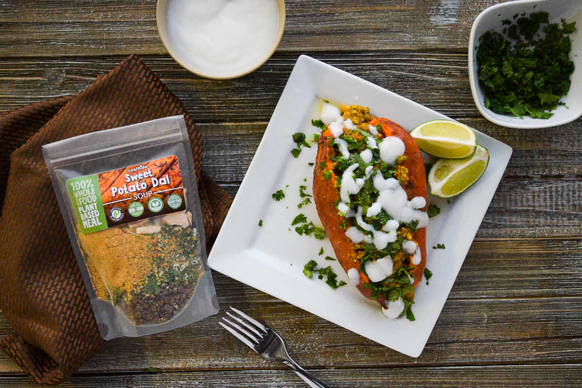 LeafSide Sweet Potato Dal Meal Mod