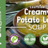 Creamy Potato Leek Soup by LeafSide, front label