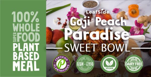 LeafSide Goji Peach Paradise Sweet-Bowl