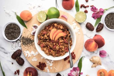 LeafSide Goji Peach Paradise Sweet Bowl
