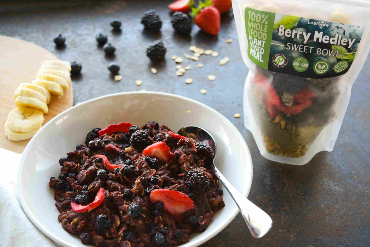LeafSide Berry Medley Sweet Bowl