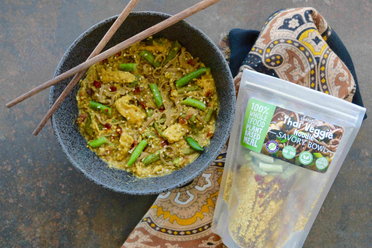 LeafSide Thai Veggie Savory Bowl