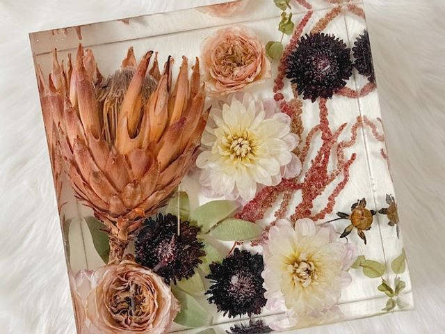 WorkShop :Dry flowers and Epoxy resin - learn all about it!