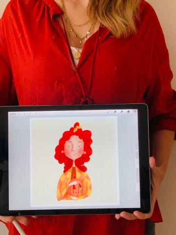Malen mit ProCreate- Intensivkurs - Einzelunterricht für Anfänger