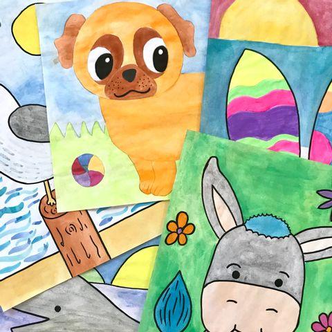 Live Online Kurs für Kinder von 5 bis 12 Jahren