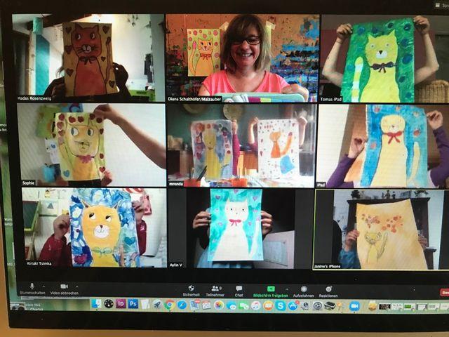 Sommerferien Online LIVE Kurse für Kinder ab 5 Jahren