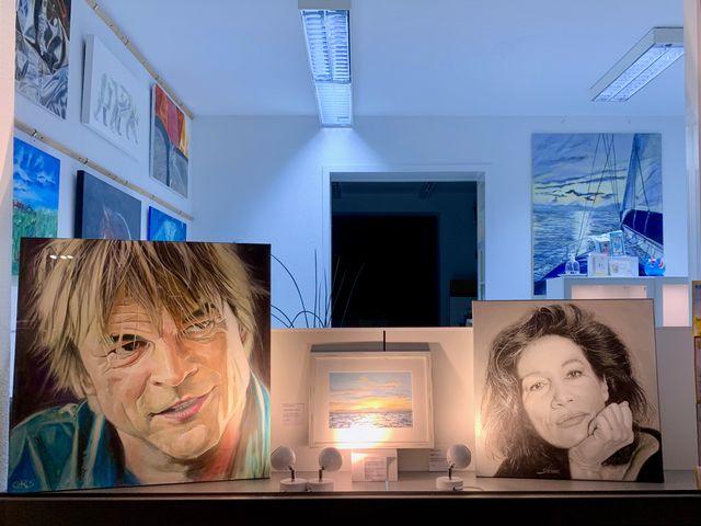 Regelmäßige, offene Kunst- und Malkurse im Künstleratelier