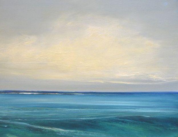 """Acrylmalereikurs """"Wolken-Wasser-Wind"""""""