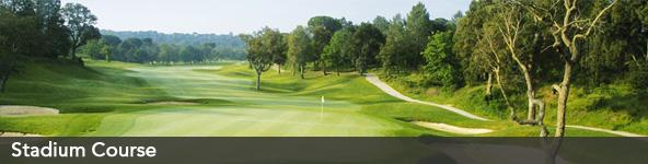 PGA Catalunya - Stadium course