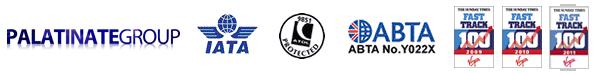 Palatinate Group, ATOL No. 9851, ABTA No.Y022X, Fast Track 2009, Fast Track 2010