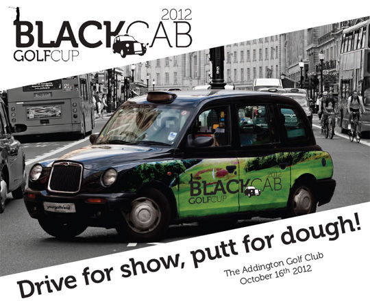Black Cab Golf Cup 2012