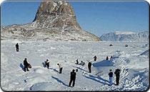 Ice Golf in Greenland