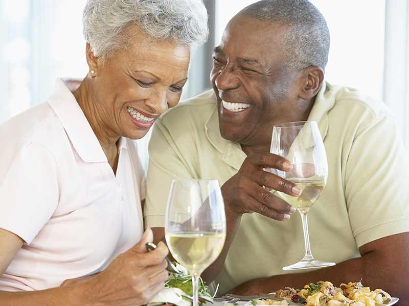 Varied Healthy Eating for Seniors Dining Legacy Pointe