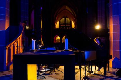 Im Tandem - Enjoy Jazz 2016: Bilder von Michael Wollny & Vincent Peirani live in Heidelberg