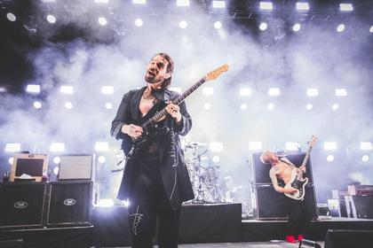Mit lautem Wolfsgeheul - Biffy Clyro befördern die Frankfurter Festhalle in den siebten Rockhimmel