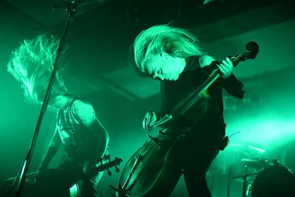 Gekonnt - Das Ende ist nahe: Bilder von Apocalyptica live im Karlsruher Substage