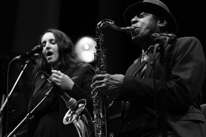 Erhaben - Fotos vom Abschlusskonzert von Enjoy Jazz 2016 mit Archie Shepp in Heidelberg