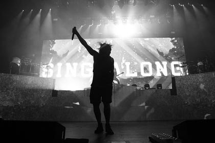 Brennender Horizont - Metal-Core Sensation: Fotos von Bring Me The Horizon live in der Jahrhunderthalle Frankfurt