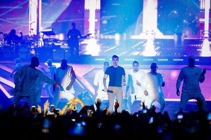 Im Auge des Orkans - Kreisch! Bilder von Justin Bieber live in der Frankfurter Festhalle