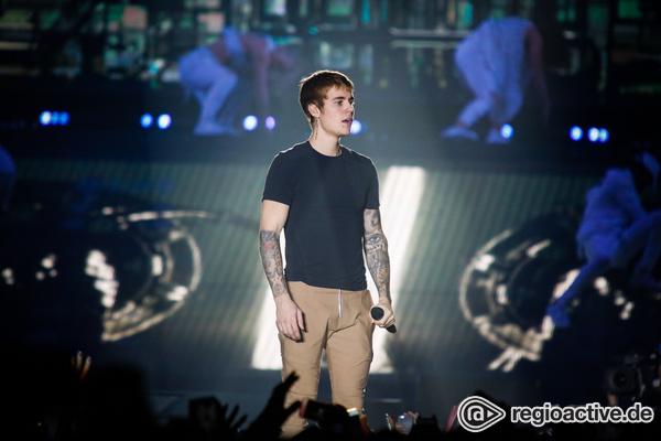 Justin 2.0 - Justin Bieber präsentiert der Frankfurter Festhalle sein neues Image