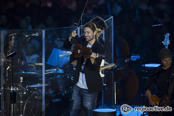 Zwischen Genie und Wahnsinn - Furios, aber überladen: David Garrett live in der SAP Arena Mannheim