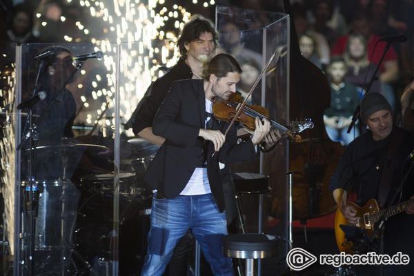 Der Mann mit der Violine - Explosiv: Fotos von David Garrett live in der SAP Arena in Mannheim