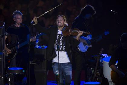 Der schnellste Geiger der Welt - So wird das David Garrett Konzert in der SAP Arena Mannheim am 27. Mai