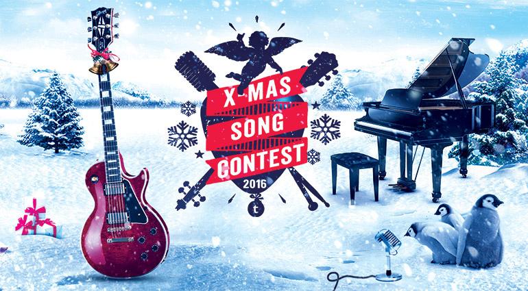 Der Thomann X-Mas Song Contest 2016: Wer komponiert den besten Weihnachtssong?