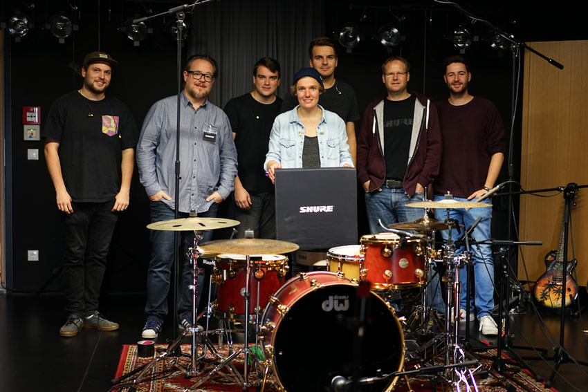 Shure Studio Tage: So gut klappte die exklusive Recording-Session mit Florian Boger & Band