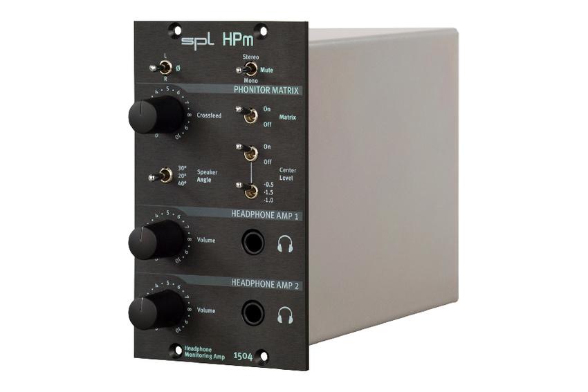 SPL präsentiert den HPm Headphone Monitoring Amplifier