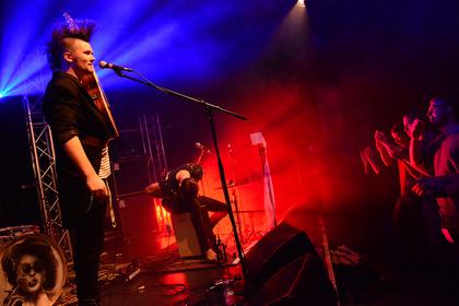 Musik. Du. Arsch. - Astra van Nelle und der Lorbeerstorch sorgen in der Villa Nachttanz in Heidelberg für einen Knalleffekt