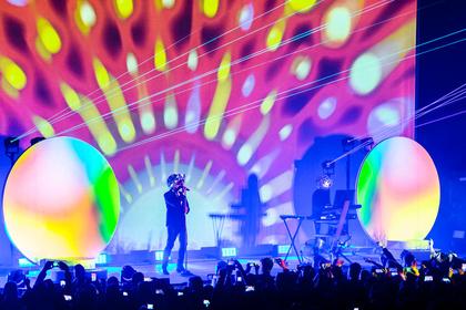 In allen Farben - Popstars: Bilder der Pet Shop Boys live in der Jahrhunderthalle Frankfurt