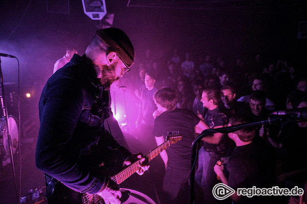 Ganz nah dran - Am Limit: Turbostaat live in der halle02 in Heidelberg