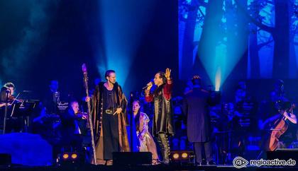 Im Zeichen des Drachen - Bei Excalibur - The Celtic Rock Opera in Frankfurt bleibt das Schwert im Stein stecken
