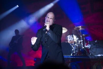 Keine Band für Totensonntage - Spektakel: Bilder von Eisbrecher live beim Knock Out Festival 2016 in Karlsruhe
