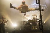 Im Flug: Fotos von Saltatio Mortis live beim Knock Out Festival 2016 in Karlsruhe