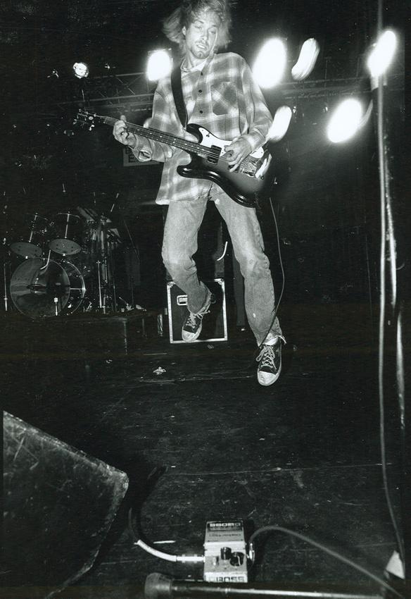 Kurt Cobain entstammt der weißen Unterschicht.