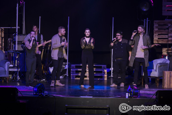 Perfekte Symbiose - Gesangstalente: Fotos von The Voice of Germany live in der Jahrhunderthalle Frankfurt
