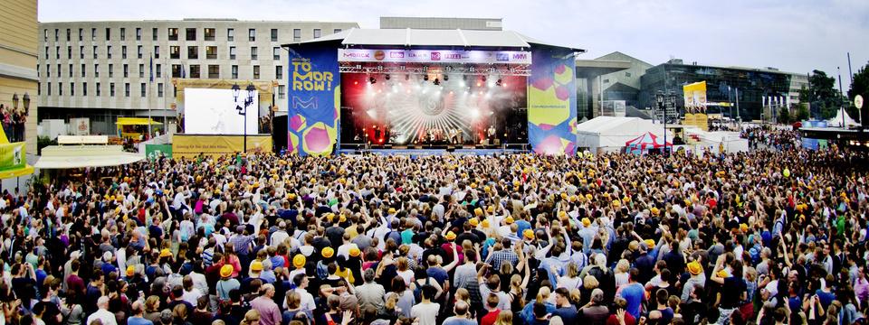 Spielt auf der ECHO-Bühne beim Schlossgrabenfest 2018 in Darmstadt