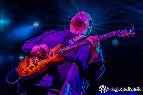 Meister der Gitarre - Progressiv: Fotos von The Steve Rothery Band live in der Batschkapp Frankfurt