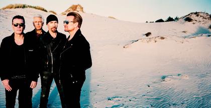 """Feiern in Stadiongröße - U2 feiern im Juli 2017 das 30-jährige Jubiläum von """"The Joshua Tree"""" in Berlin"""